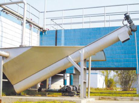 WSF型螺旋式砂水分离器